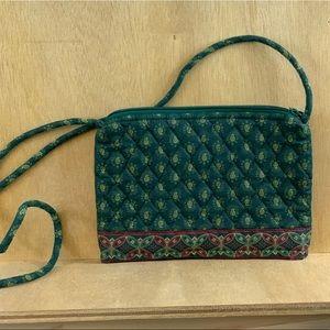 "Vintage Vera Bradley ""Classic Green"" Bag"